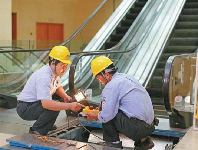 تعمیر پله برقی در کرج چگونه است؟