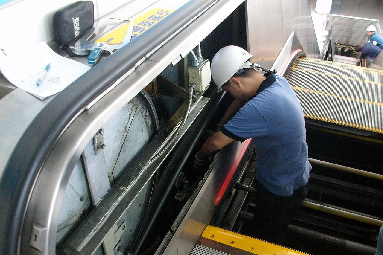 تعمیر و سرویس پله برقی در کرج