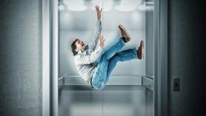 آیا آسانسور سقوط می کند؟