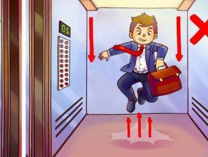 در زمان سقوط آسانسور باید چه کنیم؟